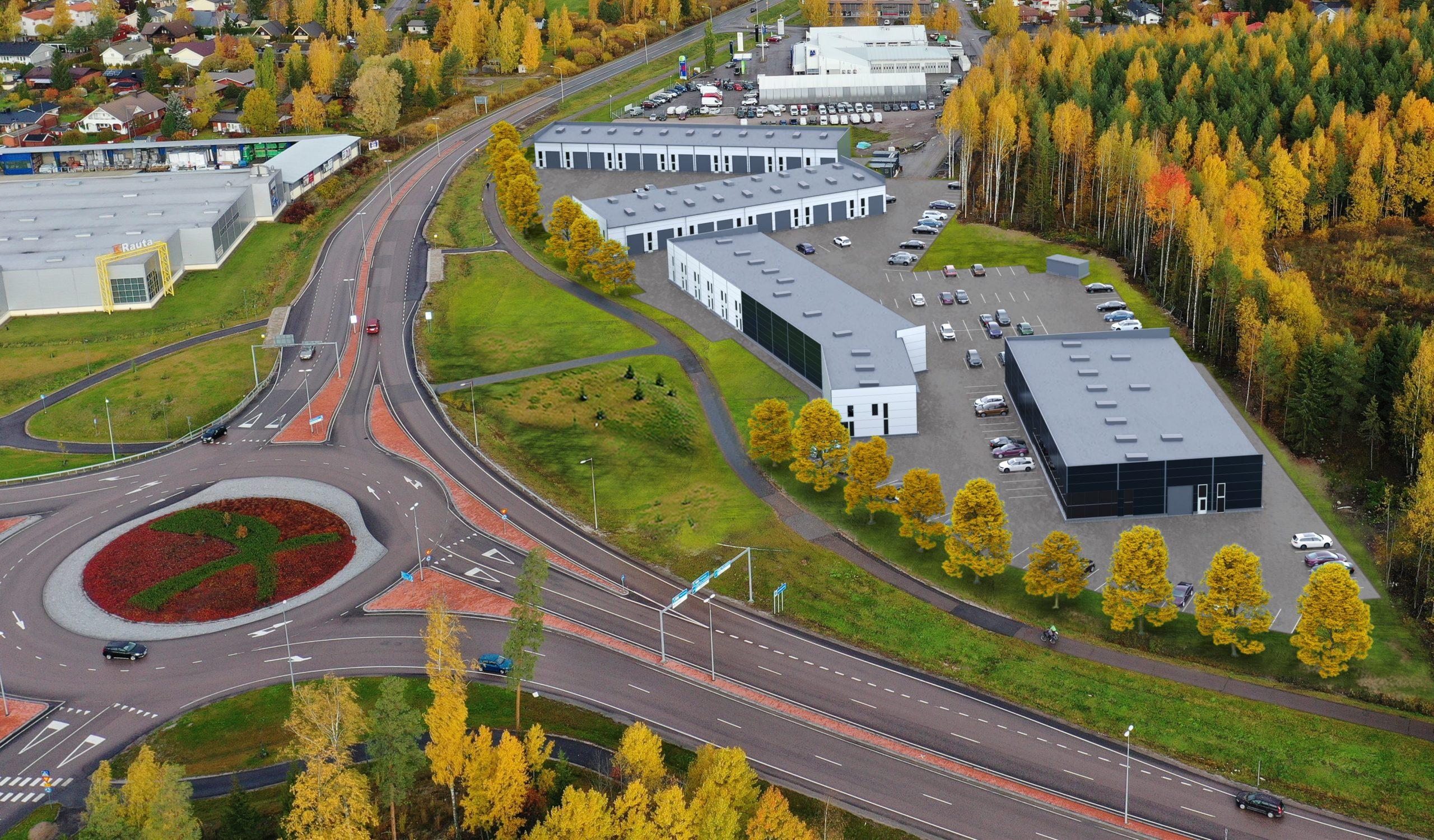 Artikkeli: Järvenpäähän valmistuu uusia toimitiloja parhaalle paikalle
