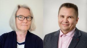 Elina Petäjäniemi ja Harri Apell, ATA-Henkilöstöpalvelut